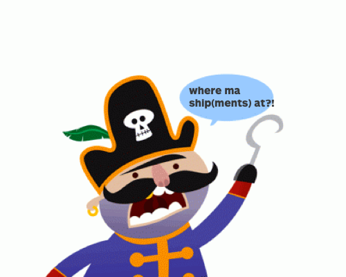 shipment webhook pirate shippo