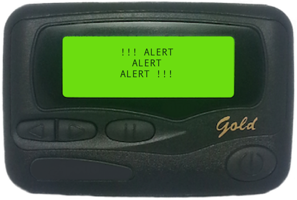 Pager Alerts