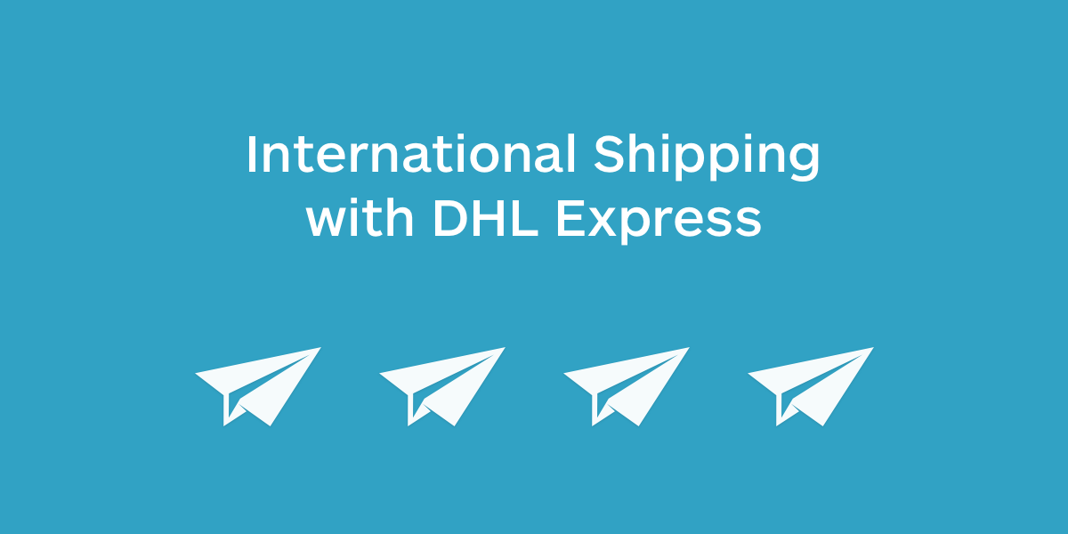 International shipping with DHL Express