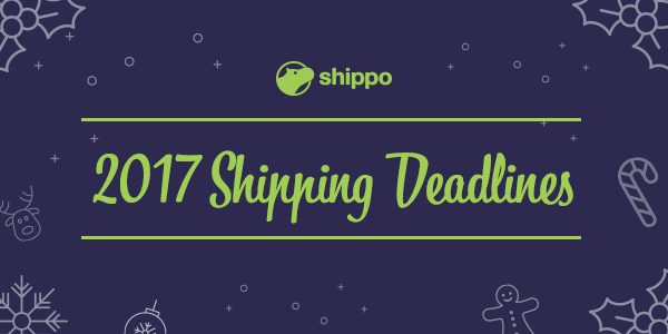 2017 Holiday Shipping Deadlines