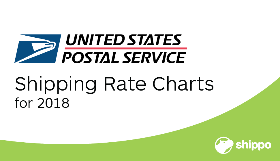 USPS Shipping Rates Charts for 2018