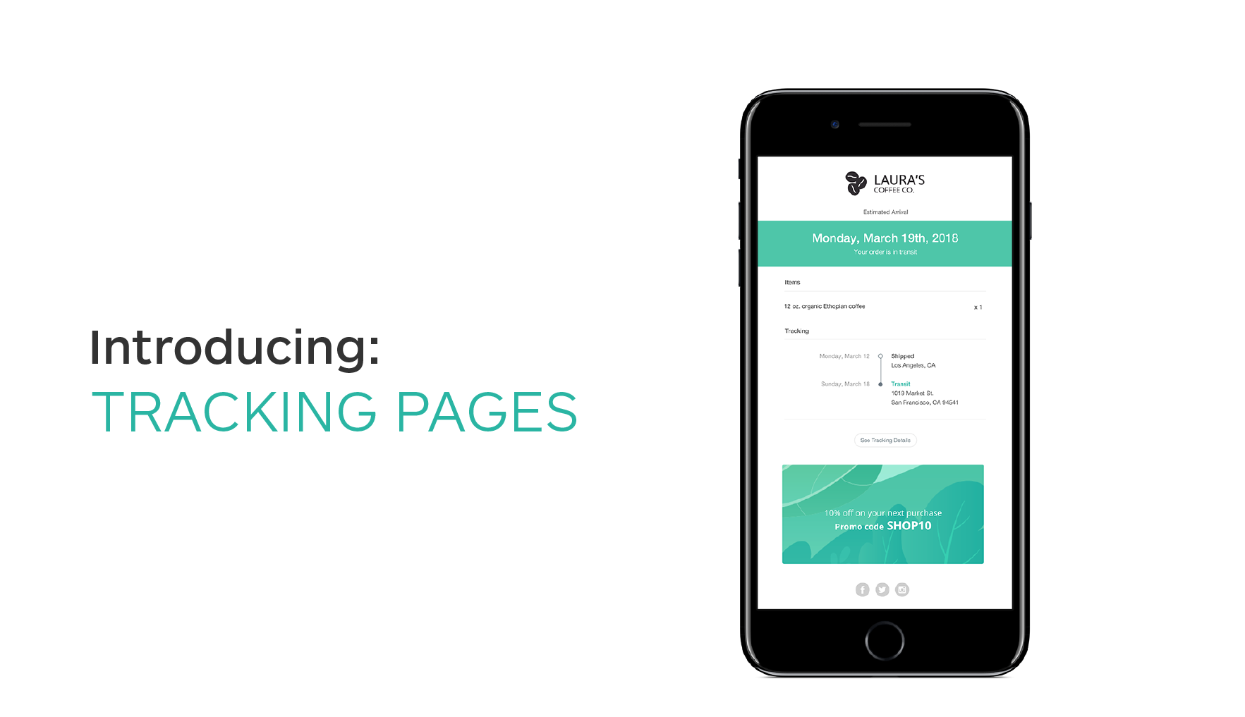 Introducing Shippo Tracking Pages