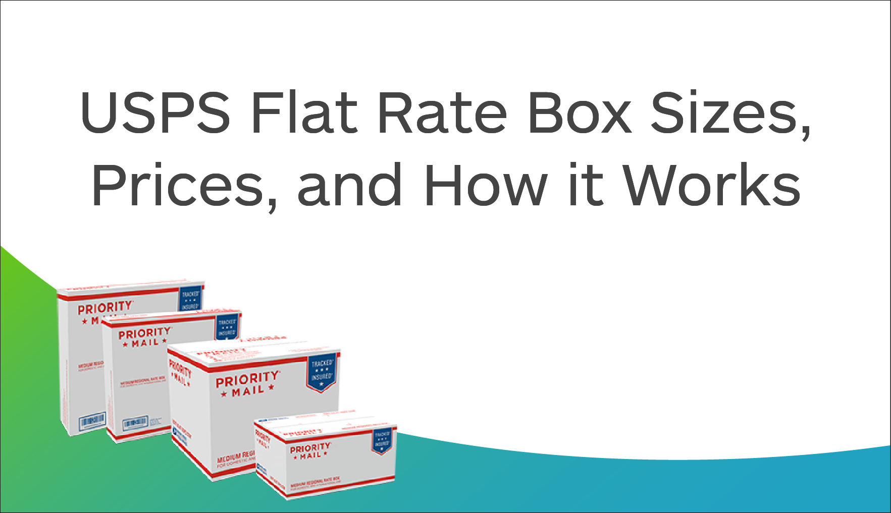 USPS Flat Rate Box Sizes, Prices, and How it Works