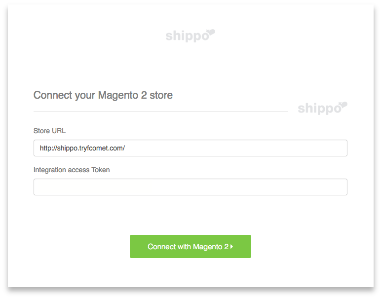 Magento 2 Shipping Integration Screenshot