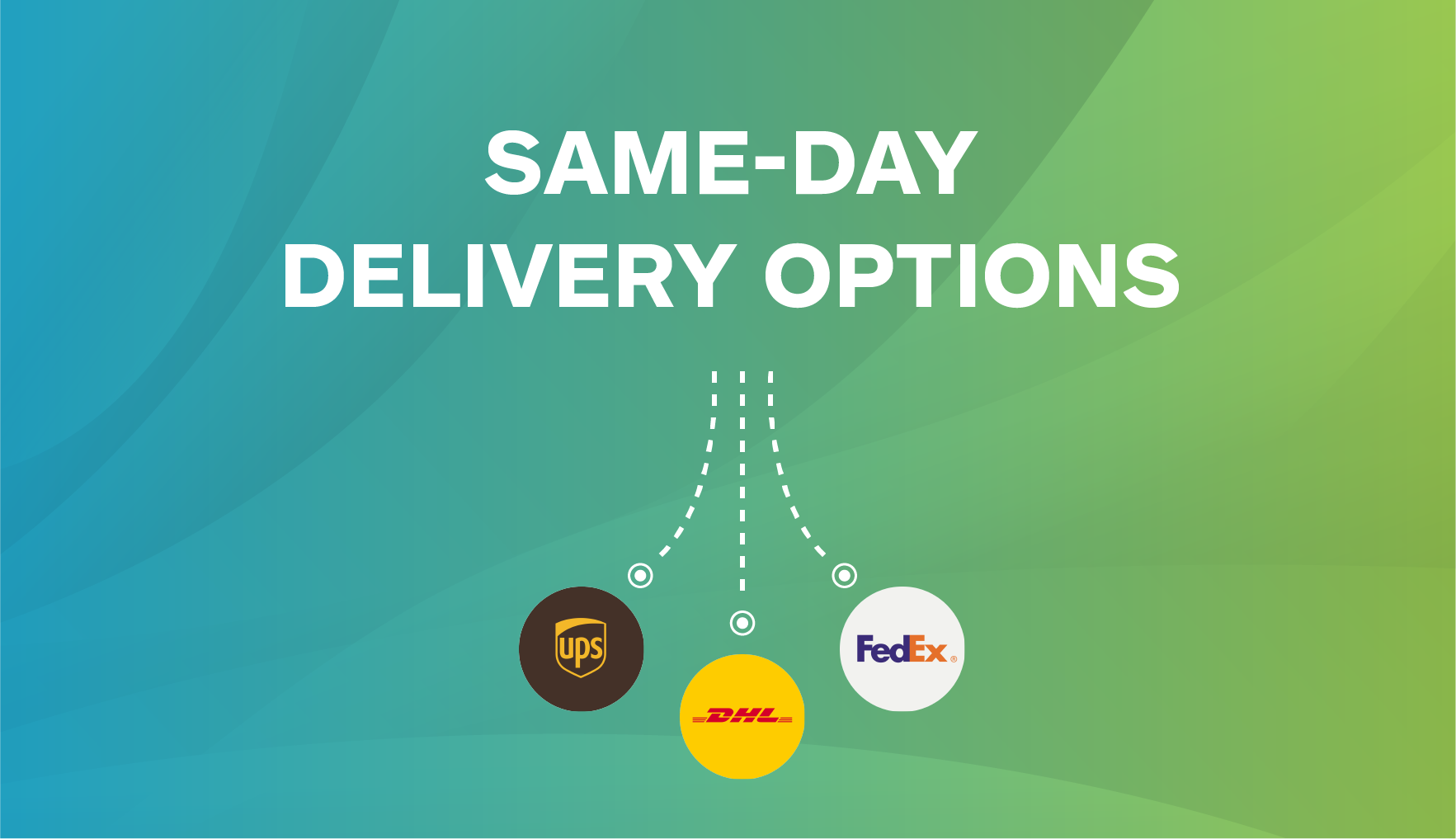 DHL, UPS, and FedEx Same-day Delivery Options