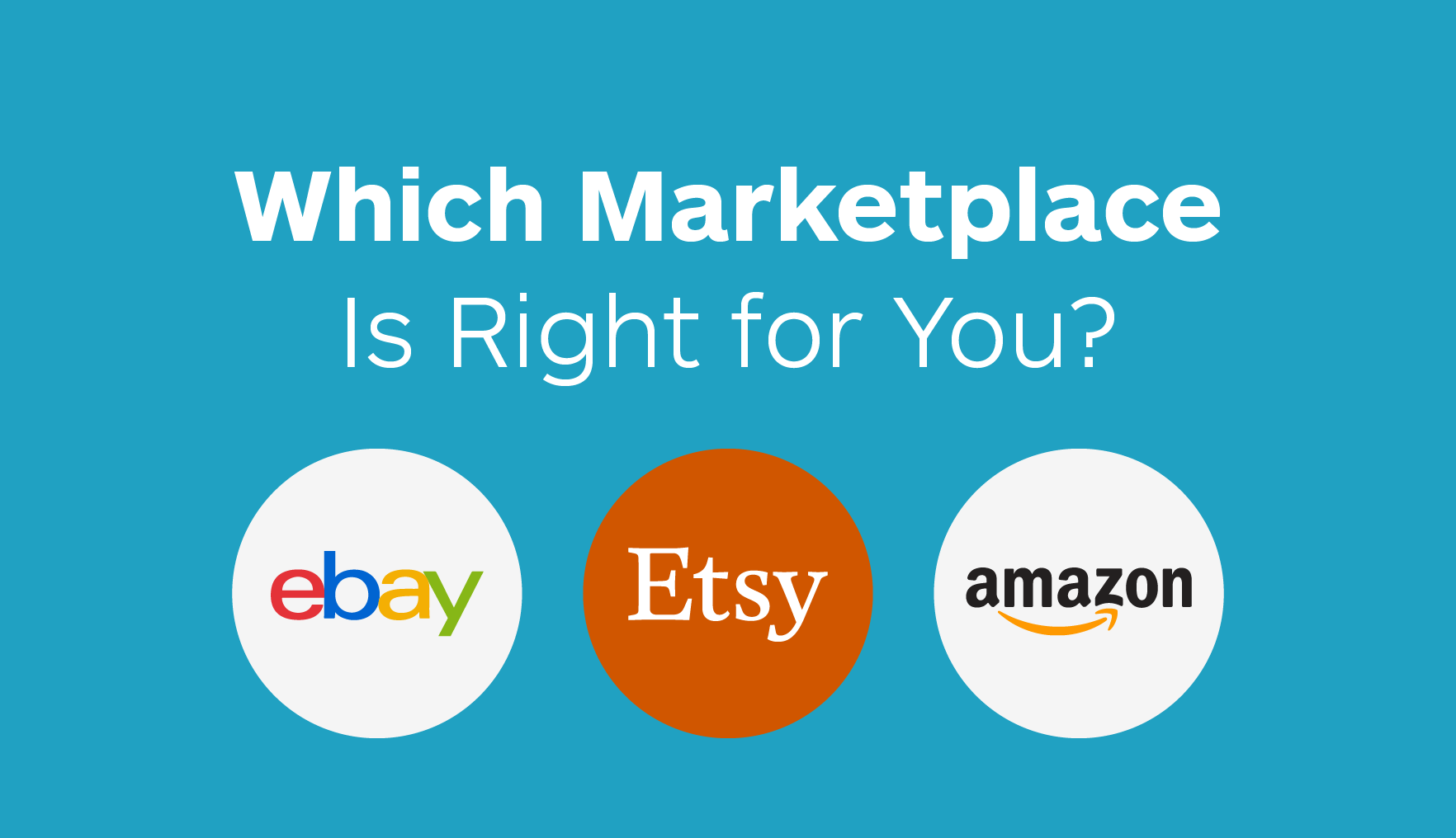 How Much Are Ebay Fees >> Selling On Amazon Vs Ebay Vs Etsy Which Marketplace Is
